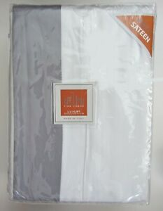 NEW Bellino Luxury Collection KING Duvet SET 3 pc Cover + 2 Shams Sateen Italy