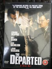 The Departed DVD with Leonardo Di Caprio, Matt Damon, Jack Nicholson