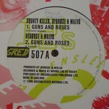 """BOUNTY KILLER REDROSE & MALVO ~ Guns & Roses ~ 12"""" Single"""