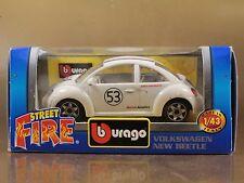 BBURAGO BURAGO 1/43 STREET FIRE #41103 VOLKSWAGEN NEW BEETLE N.53 [PI3-48]