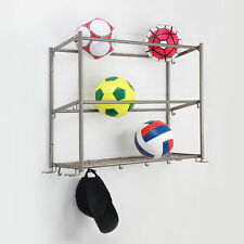 Hyper Tough 3-Tier Wall Mounted Sports Rack - Stain Nickel