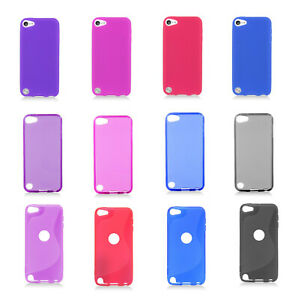 For New Apple iPod Touch 7 6 5th Gen Flexible Rubber Silicone Gummy Case Cover