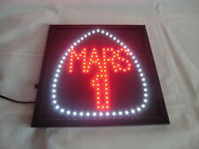 Mars  Leuchtreklame /  Neon /  Lampe / Werbung siehe auch Fotos