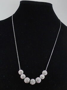 Betsey Johnson Hematite YOU GIVE ME BUTTERFLIES Pave' Fireball Necklace $58