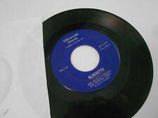 DING A LING RECORDS 45 RPM JOE NICOLO WISHING/BLUESETTE #1001 VG