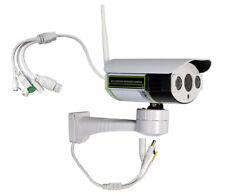 Telecamera ip wifi staffa motorizzata RS485 lente 6 mm IP65 slot sd per esterno
