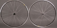 Mavic Open Pro Black Rims Shimano 7000 hubs 36h Wheelset Road Bike 8-11 Speed.
