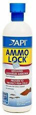 API Ammo Lock 473ml Detoxifies Neutralises Ammonia Instantly Protects Fish