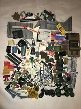GI Joe Lot Action Figures Accessories Vehicle Parts Pieces Weapons  Vintage