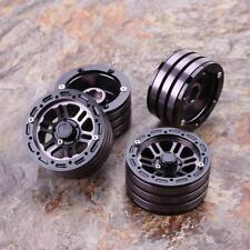 4Pcs/Set 1/10 RC Crawler Metal Alloy 1.9 Inch Wheel Rim BEADLOCK for 1/10 A Toys