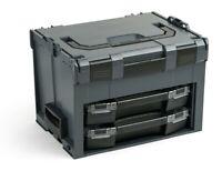 LS Boxx 306 Sortimo Bosch anthrazit | mit 2 i-Boxx 72 | LS-BOXX 306 mit Einlage