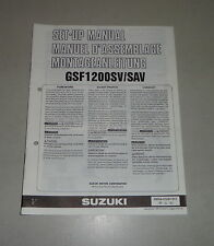 Montageanleitung / Set Up Manual Suzuki GSF 1200 S / SA Stand 12/1996