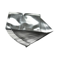 100X Silver Aluminum Mylar Foil Bags Vacuum Sealers Pouch Food Storage Package