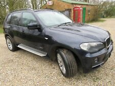 BMW X5  3.0d 7 seater   dark blue ( 2007) FSH ( with 2 sets of wheels/ tyres )