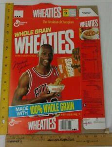 1991 Michael Jordan Wheaties cereal box offer flat Bulls Last Dance