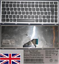 QWERTZ-TASTATUR UK LENOVO IdeaPad U310 NSK-BCDSQ 9Z.N7GSQ.D0U Schwarz,