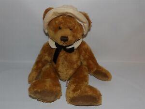 "Adorable 12"" Russ MAYFLOWER  Plush PILGRIM Girl Bear w/ Bonnet & Collar (*61)"