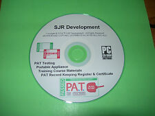 PAT Testing Course Portable Appliance Training Materials Electrician Electrical