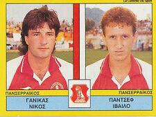N°454 PLAYERS PANSERRAIKOS FC GREECE PANINI GREEK LEAGUE FOOT 95 STICKER 1995