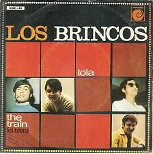 Los Brincos Lola / The Train Spain 45 With Picture Sleeve