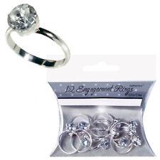 Compromiso Confetti Mesa 3d 'Diamante Anillos' Fiesta Decoración Mesa