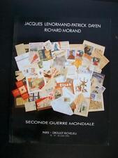 SECONDE GUERRE MONDIALE 30.000 DOCUMENTS - DROUOT RICHELIEU PARIS 1990