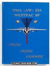 """USMC VMA-224 """"FIGHTING BENGALS"""" 1989 WESTPAC DEPLOYMENT"""