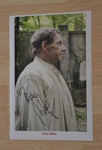 ORIGINAL Autogramm von Richy Müller. pers. gesammelt. 20x30 FOTO. 100% ECHT