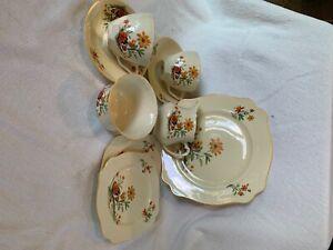Tea for Two Set, Royal Staffordshire Pottery England