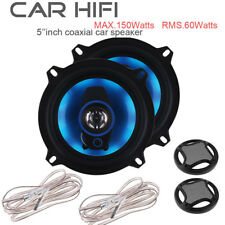 5 Inch 150W Car Audio Coaxial Speakers  Hifi Loud Full Frequency Stereo Audio