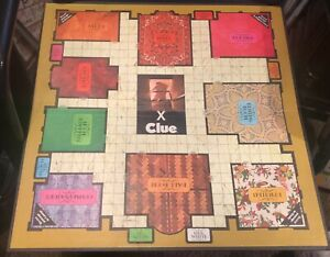 """Vintage 1972 """"CLUE"""" Game Board Only Parker Brothers Replacement Piece!"""