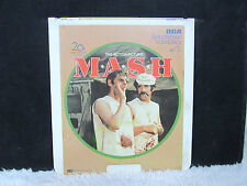 CED VideoDisc M.A.S.H. The Motion Picture (1969), 20th Century Fox, RCA Select