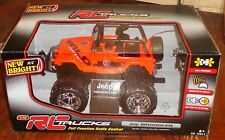 New Bright Jeep Wrangler 1:16 R/C Full Function NEW