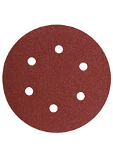 Bosch SR6R060 5-Piece 60 Grit 6 In. 6 Hole Hook-And-Loop Sanding Discs