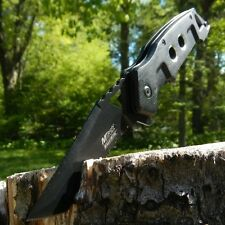 """8.5"""" SPRING ASSISTED Open Blade FOLDING POCKET KNIFE Tactical Tanto Switch NEW"""