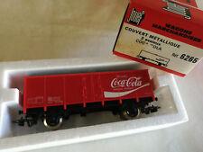 Jouef Wagon couvert 2 essieux Coca Cola Éch HO Réf 6265