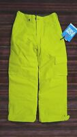 Bonfire Boys Medium Troop Snow Pants, Snowboard Ski, Yellow, Lined, NWT, FREE SH