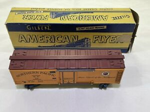 American Flyer / Gilbert 947 Refrigerator Car Northern Pacific with Box