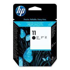 ORIGINALE HP TESTINA DI STAMPA DESIGNJET 110 111 500 800/C4810A N.11 Black