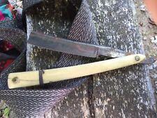 antique Circa 1850 safety razor Signed Roberts Warranted No Reserve