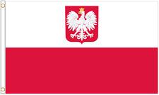 More details for poland state 5'x3' heavy-duty nylon flag
