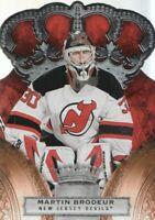 2010-11 Crown Royale Hockey #59 Martin Brodeur New Jersey Devils