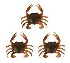 Savage Gear LB 3D Manic Crab Orange Belly Krebs Gummiköder für Meeresräuber