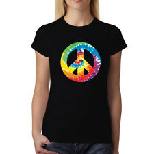 Peace And Love Sign Women T-shirt XS-3XL New