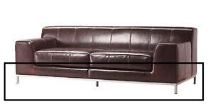 IKEA Kramfors 3er Sofa Gestell Metall lackiert silber grau 00074109 - NEU & OVP