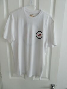 RVCA Va MOD SS T-Shirt - White - Brand new with tags.
