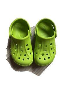 Crocs Baya Kids Gr. 25-26 Grün