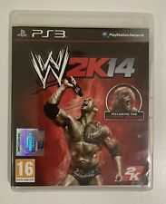PS3 WWE W2K14 - PlayStation 3 Game Includes Manual