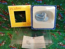 It'S A Boy by Raine Just The Right Shoe for Kids In Box, 27309 2003 Nib