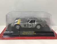 1/43 Hachette Ferrari 250 GTO Tour de France 1964 Diecast Car Model #172